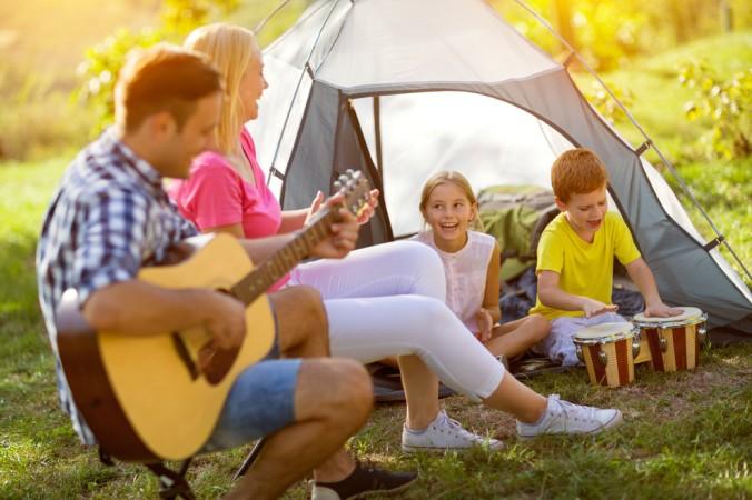 Egal ob im Zelt oder Camper: In Frankreich auf den Campingplätzen ist jede Art von Familienurlaub möglich! (#3)