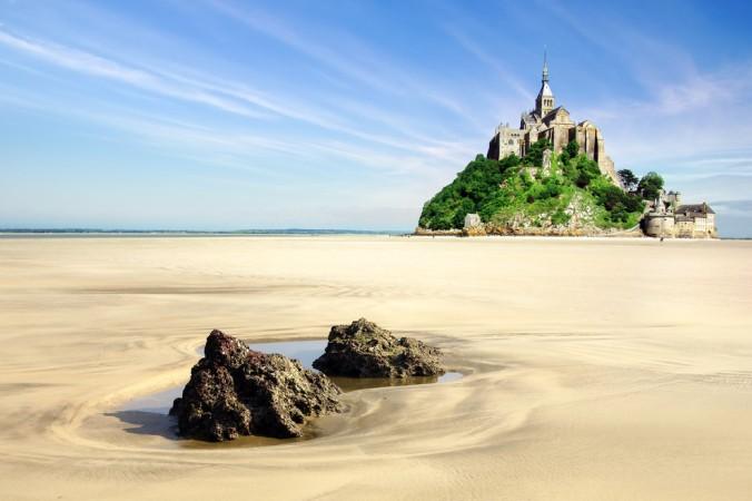 Der Mon Saint Michel ist eine der Top Sehenswürdigkeiten an der Atlantikküste und definitiv einen Besuch wert! (#4)