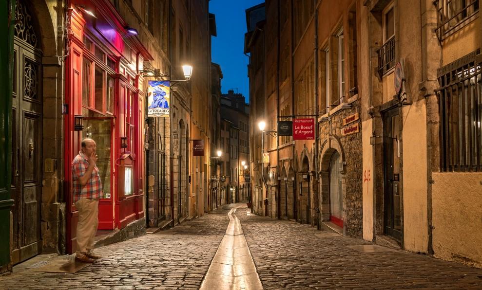 Auvergne-Galerie, Foto #3: Die Rue du Bœuf in der Altstadt von Lyon steht für Renaissance-Architektur. (#3)